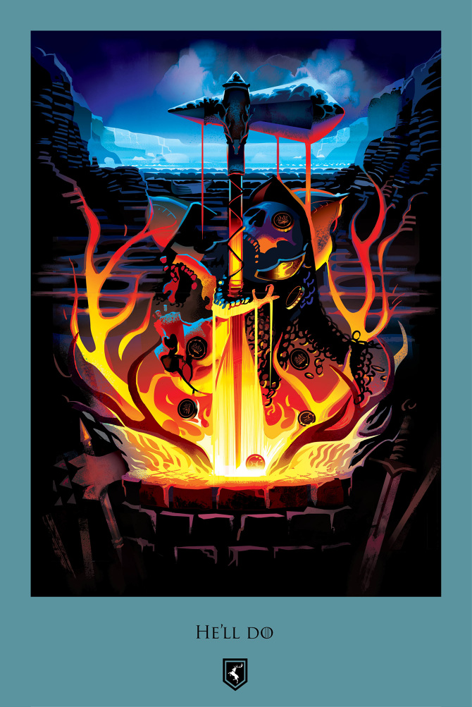 Game Of Thrones Beautiful Death Posters
